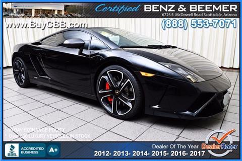 2013 Lamborghini Gallardo for sale in Scottsdale, AZ