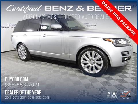 Range Rover Scottsdale >> 2017 Land Rover Range Rover For Sale In Scottsdale Az