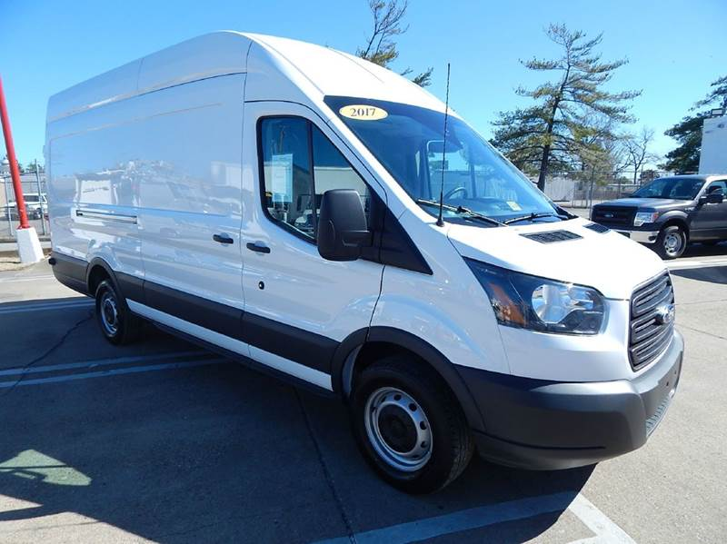 2017 ford transit cargo 250 3dr lwb high roof extended cargo van w sliding passenger side door