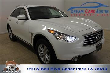 2016 Infiniti QX70 for sale in Cedar Park, TX