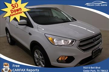 2017 Ford Escape for sale in Cedar Park, TX