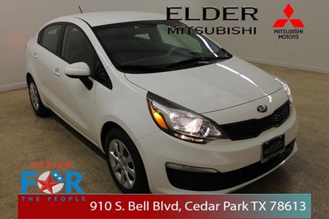 2016 Kia Rio for sale in Cedar Park, TX