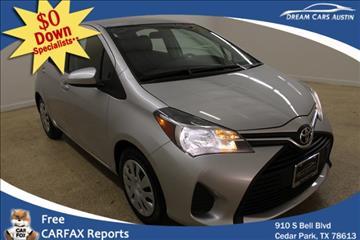 2015 Toyota Yaris for sale in Cedar Park, TX