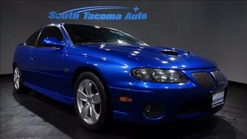 2005 Pontiac GTO for sale in Tacoma, WA