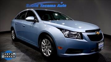 Chevrolet Cruze For Sale Tacoma Wa Carsforsale Com