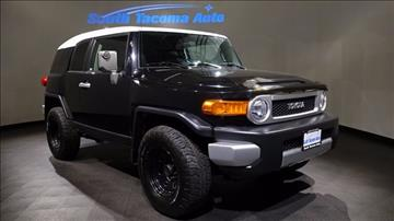 2007 Toyota FJ Cruiser for sale in Tacoma, WA
