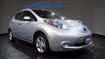2013 Nissan LEAF for sale in Tacoma, WA