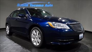 2013 Chrysler 200 for sale in Tacoma, WA