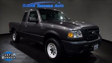 2009 Ford Ranger for sale in Tacoma, WA