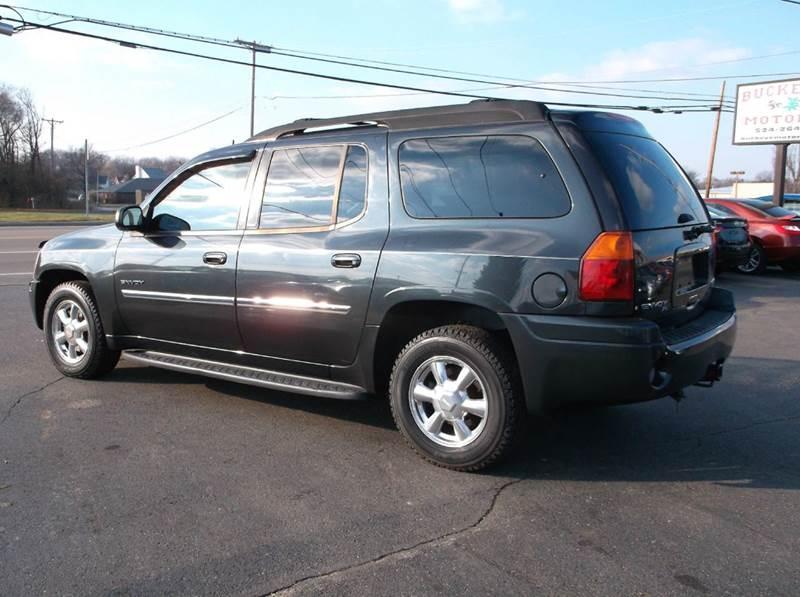 2006 Gmc Envoy Xl Slt 4dr Suv 4wd In Troy Oh Buckeye Motors