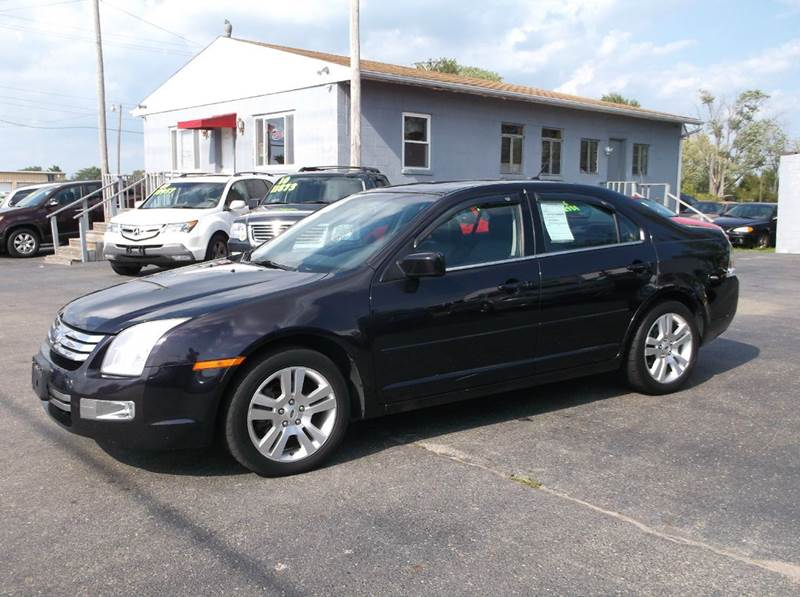 2007 ford fusion awd v6 sel 4dr sedan in troy oh buckeye motors. Black Bedroom Furniture Sets. Home Design Ideas