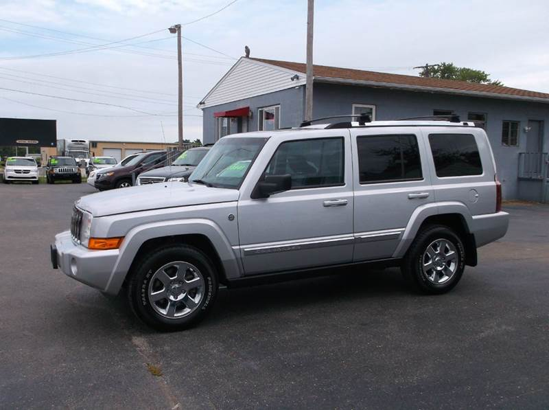 2008 Jeep Commander 4x4 Limited 4dr Suv In Troy Oh