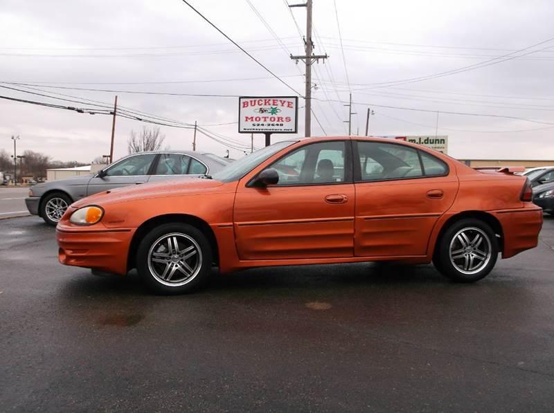 2004 Pontiac Grand Am Gt 4dr Sedan In Troy Oh Buckeye Motors