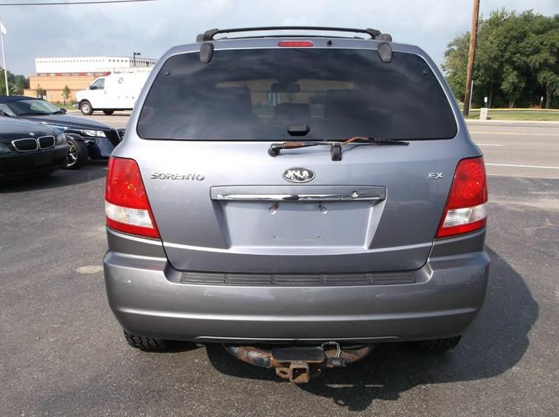 2006 Kia Sorento Ex 4dr Suv In Troy Oh Buckeye Motors