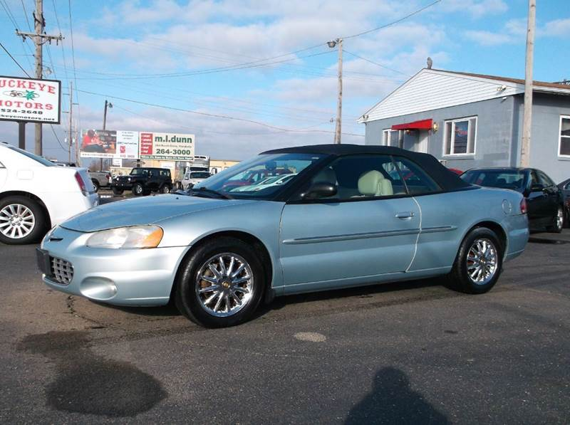 2001 Chrysler Sebring Limited 2dr Convertible In Troy Oh