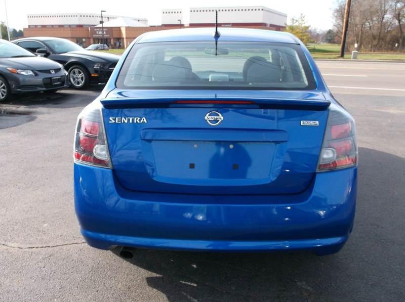 2012 Nissan Sentra 2 0 S 4dr Sedan In Troy Oh Buckeye Motors