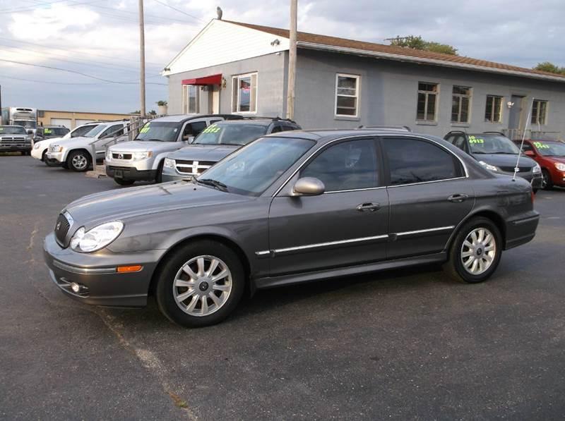 2004 Hyundai Sonata Gls 4dr Sedan In Troy Oh Buckeye Motors