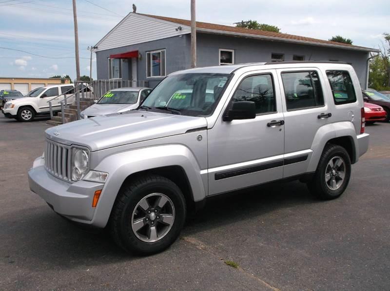 2008 Jeep Liberty 4x4 Sport 4dr Suv In Troy Oh Buckeye