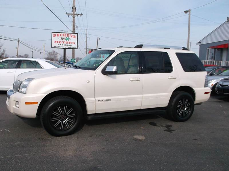 2008 Mercury Mountaineer Premier Awd 4dr Suv V8 In Troy Oh