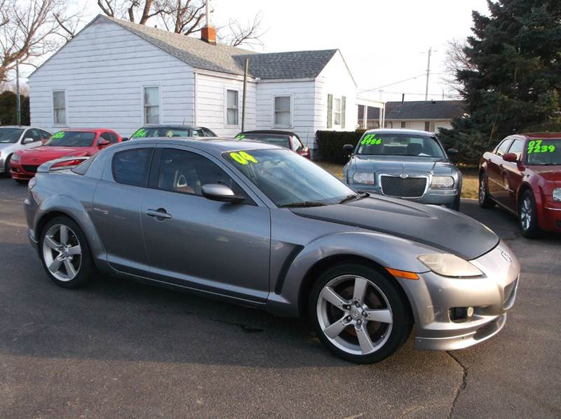 2004 Mazda Rx 8 4dr Coupe In Troy Oh Buckeye Motors