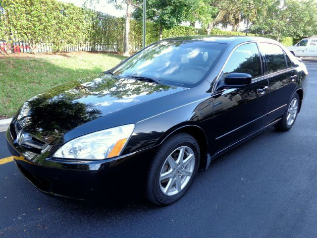 2003 HONDA ACCORD EX V6 SEDAN AT WITH NAV SYSTEM black gorgeous loaded up 2003 honda accord ex w