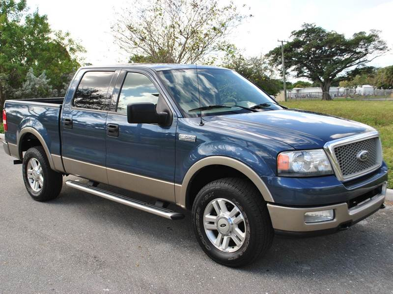 2004 ford f 150 4dr supercrew lariat 4wd styleside 5 5 ft sb in north lauderdale fl car concepts. Black Bedroom Furniture Sets. Home Design Ideas