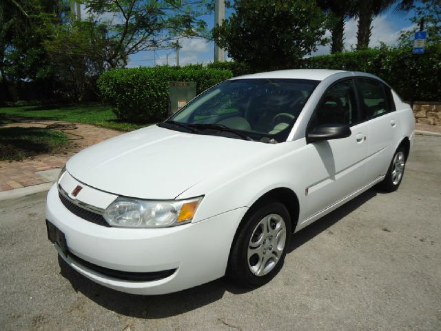 2003 SATURN ION SEDAN 2 white all electrical and optional equipment on this vehicle have been chec