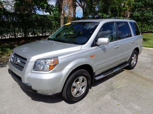 2007 HONDA PILOT EX-L 2WD silver metallic ultra clean nice like new 2007 honda pilot ex-l with