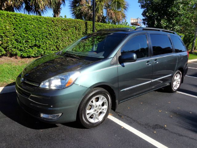 2004 TOYOTA SIENNA XLE LIMITED metallic green practical roomy dependable 2004 toyota sienna xle