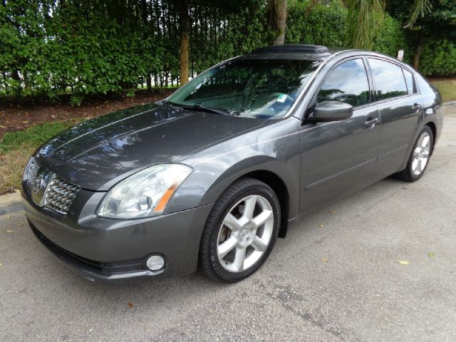 2006 NISSAN MAXIMA SE metallic gray 2006 nissan maxima se sedan extra clean and ready to go sun