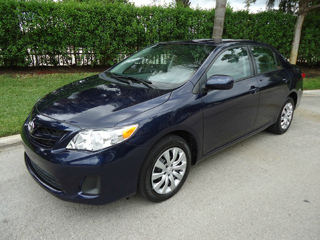 2012 TOYOTA COROLLA LE 4-SPEED AT blue all electrical and optional equipment on this vehicle have