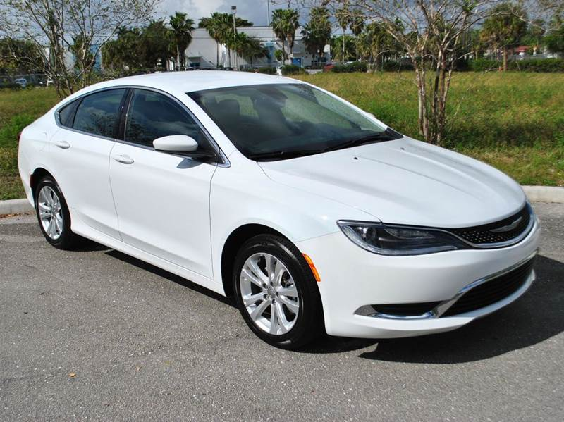 2015 chrysler 200 limited 4dr sedan in north lauderdale fl nex car. Black Bedroom Furniture Sets. Home Design Ideas