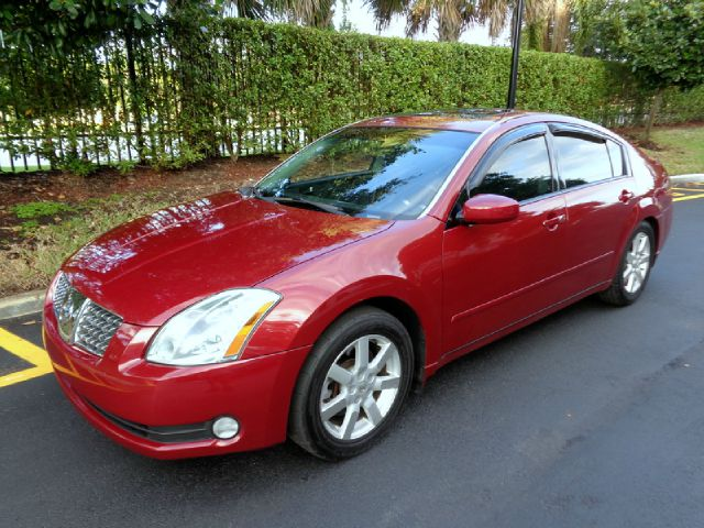 2006 NISSAN MAXIMA SL red metallic gorgeous 2006 nissan maxima 35 sl sedan tons of features on t