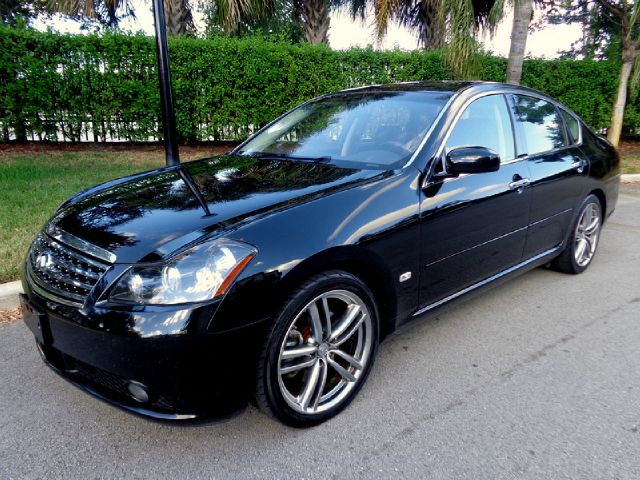 2007 INFINITI M45 45 SEDAN black 2007 infiniti with navigation heated and cooling front seats re