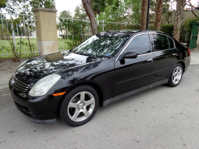 2003 INFINITI G35 SPORT SEDAN WITH LEATHER black 2003 infiniti g35 sport sedan in amazing conditio
