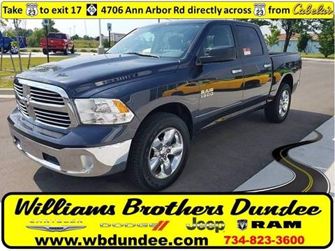 2015 RAM Ram Pickup 1500 for sale in Dundee, MI
