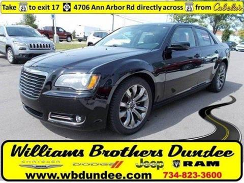 2014 Chrysler 300 for sale in Dundee, MI