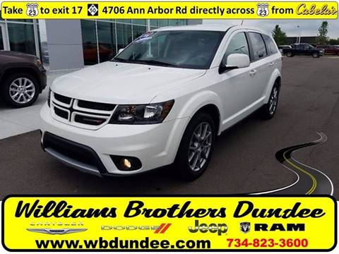 2016 Dodge Journey for sale in Dundee, MI