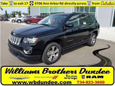 2017 Jeep Compass for sale in Dundee, MI