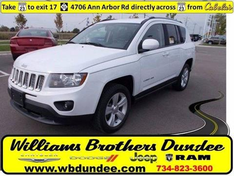 2016 Jeep Compass for sale in Dundee, MI