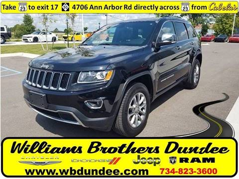 2015 Jeep Grand Cherokee for sale in Dundee, MI