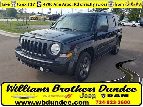 2015 Jeep Patriot for sale in Dundee, MI