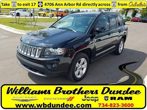 2014 Jeep Compass for sale in Dundee, MI