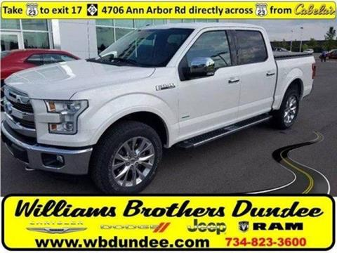 2015 Ford F-150 for sale in Dundee, MI