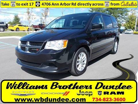2014 Dodge Grand Caravan for sale in Dundee, MI