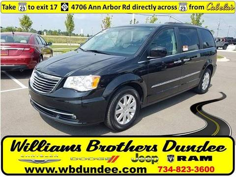 2014 Chrysler Town and Country for sale in Dundee, MI