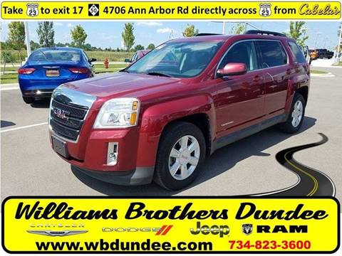 2010 GMC Terrain for sale in Dundee MI