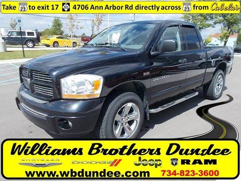 2006 Dodge Ram Pickup 1500 for sale in Dundee, MI