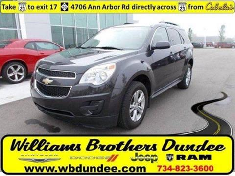 2015 Chevrolet Equinox for sale in Dundee, MI