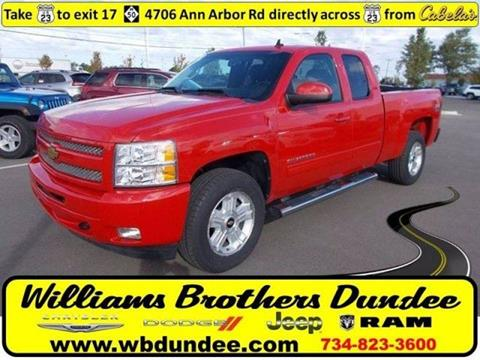 2011 Chevrolet Silverado 1500 for sale in Dundee, MI